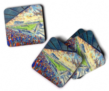 caledonian stadium Coaster set of four